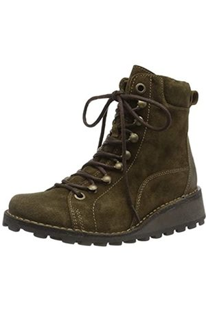 Fly London Women's MALU001FLY Ankle Boots, (Sludge/Olive 006)
