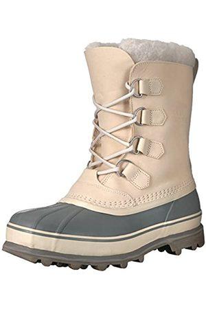 Sorel Men's Caribou Snow Boots, (Oatmeal)/ (Quarry)