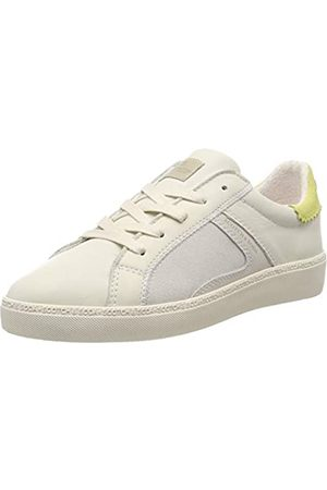SCOTCH & SODA FOOTWEAR Laurite, Women's Low-Top Trainers, Multicoloured (Cream-citrus S141)