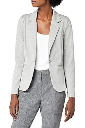 Ichi Women's 20101801 Blazer, - Grau ( Melange 10020)