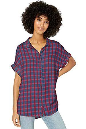 Goodthreads Modal Twill Short-sleeve Button-front Shirt / Plaid
