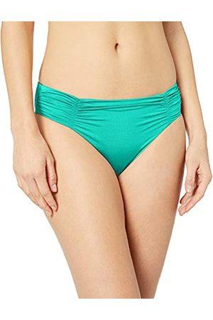 Seafolly Women's Gathered Front Retro Bikini Bottom with Full Coverage