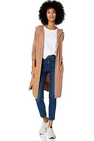 Goodthreads Mid-gauge Stretch Hooded No-closure Sweater Caramel Heather
