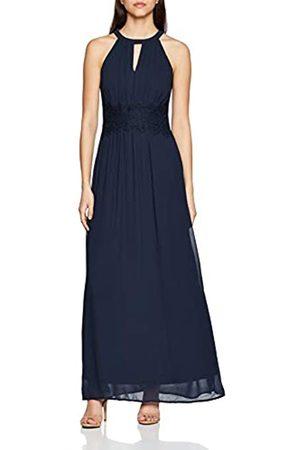 VILA CLOTHES Women's Vimilina Halterneck Maxi Dress-Noos