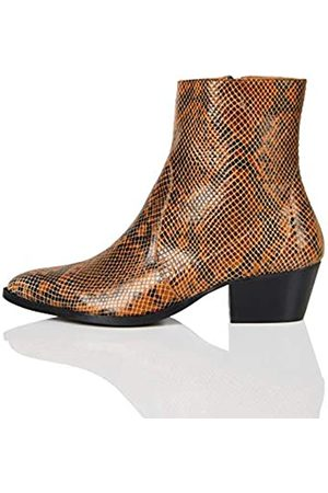 FIND Unlined Leather Western Cowboy Boots
