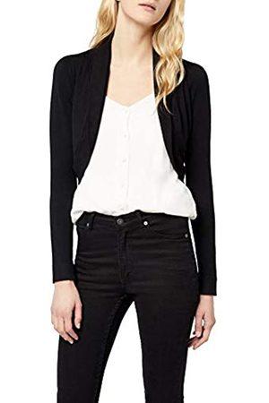 Morgan Women's 141-MOLU.M Plain Jacket Long Sleeve Jacket, (Negro)