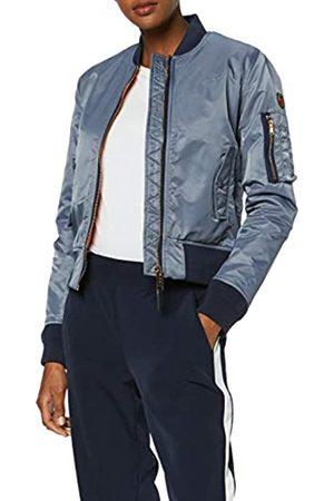 Schott NYC SCHOTT Women's Jktacw Blouse Long Sleeve Bomber Jacket