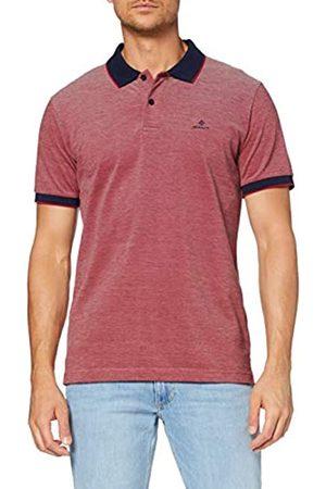 GANT Men's D2. 4-col Oxford Pique Ss Rugger Polo Shirt