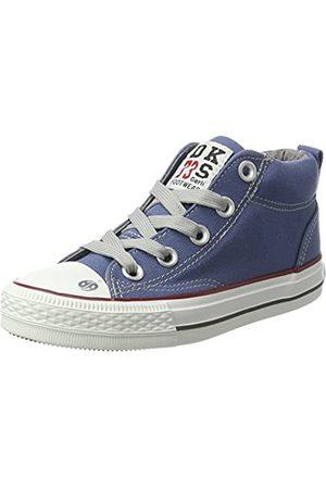 Dockers by Gerli 38ay603-710600, Unisex Kids' Hi-Top Sneakers, (Blau 600)