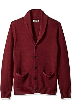 Goodthreads Men's GT444556FL18 Sweatshirt, (Solid Burgundy)