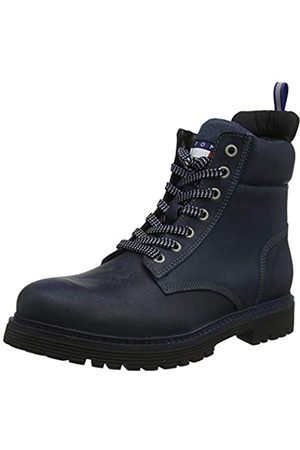 Tommy Hilfiger Tommy Jeans Outdoor Sued Boot, Men's Ankle Boots Classic Boots, (Ink Dark 006)