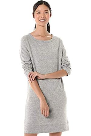 Goodthreads Modal Fleece Popover Sweatshirt Dress Medium NEP Heather