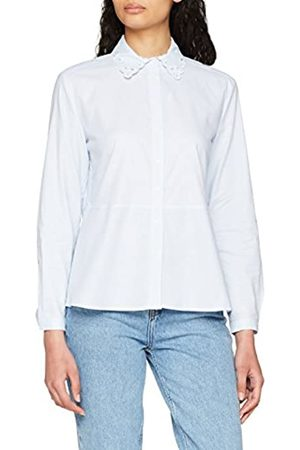 Tommy Hilfiger Women's Haven A Line Oxford Shirt 7/8 Slv Blouse