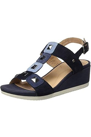 Geox Women's D Ischia D T-Bar Sandals, (Navy/ C4264)
