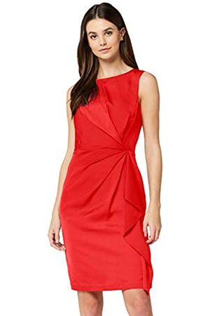 TRUTH & FABLE Amazon Brand - Women's Dress Twist Front Tunic, 18