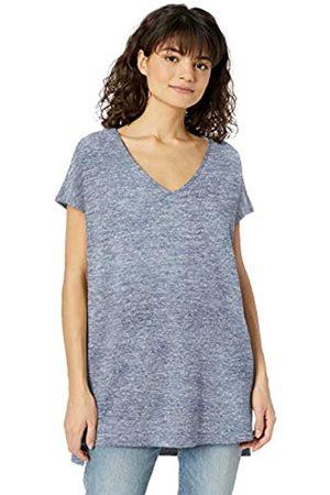 Daily Ritual Women's Cozy Knit Dolman-Sleeve V-Neck Tunic