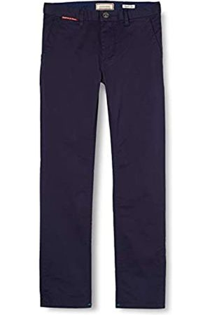Scotch & Soda Boy's Slim Fit-Chino in Pima Cotton Quality with Stretch Trouser