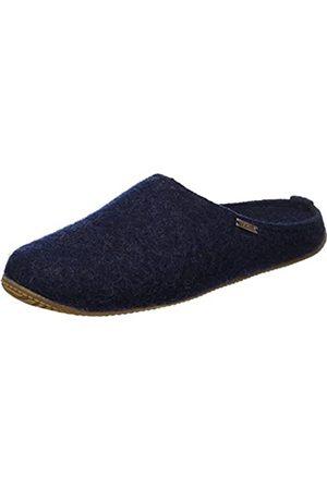 Living Kitzbühel Unisex Adults' Walkpantoffel mit Fußbett Hohe Salve Slippers, Blau (Nachtblau)