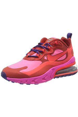 Nike Women's W Air Max 270 React Running Shoe, Mystic /Bright Crimson- Blast