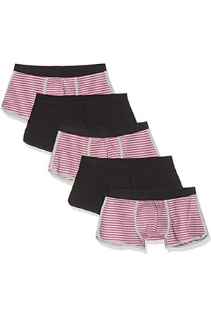 FIND Amazon Brand - BELK072M5 Mens Trunks, (Neon & Stripes/ ), 34 (size: Medium)