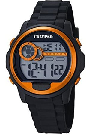 Calypso Unisex Digital Watch with LCD Dial Digital Display and Plastic Strap K5667/4