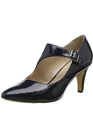 Lotus Women's Laurana Closed Toe Heels, (Navy De)