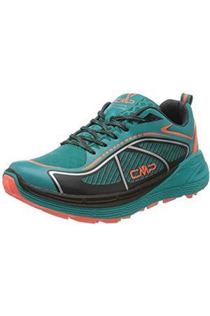 CMP Women's Nashira Maxi Wmn Trail Shoe Running, (Curacao- Fluo 32LC)