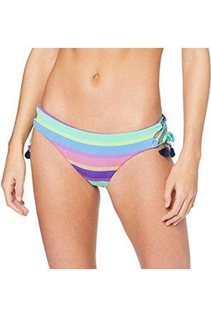 Seafolly Women's Baja Stripe Brazilian Loop Tie Side Bikini Bottoms
