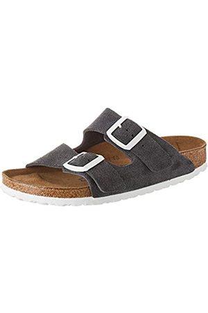 Birkenstock Women's Arizona SFB Open Toe Sandals, (Gunmetal Gunmetal)