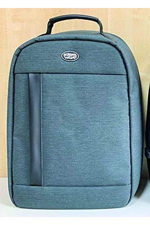 Ocean´s Wave Unisex Adults'Backpack (Azul Azul) Mediana-grande