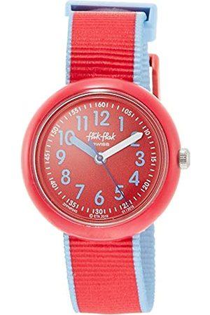 Flik Flak Girls Analogue Quartz Watch with Textile Strap FPNP045
