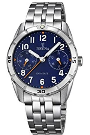 Festina Unisex Analogue Quartz Watch with Stainless Steel Strap F16908/2