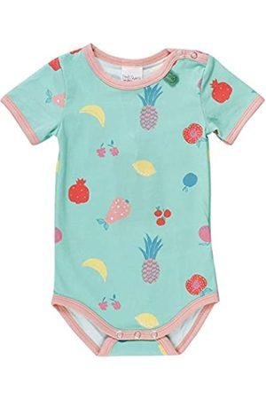 Green Cotton Baby Girls' Fruit S/s Body Shaping Bodysuit