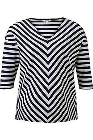 TOM TAILOR MY TRUE ME Women's Lockerer Drop-Shoulder Sweatshirt