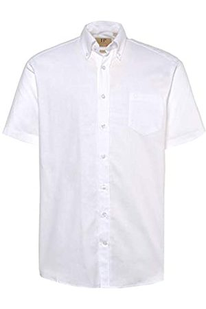 JP 1880 Men's Big & Tall Short Sleeve Linen Blend Shirt XXXXXX-Large 714237 20-6XL