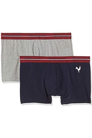 Eminence Men's Cocoricool Underwear, Rooster/Gray Heather