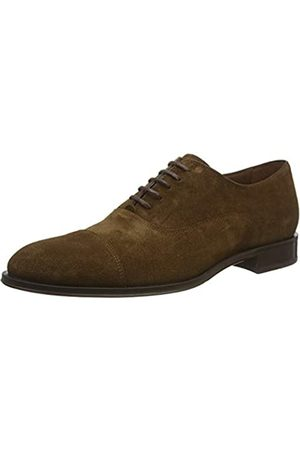 Lottusse Men's L6965 Oxfords, (Camoscio Marron Camoscio Marron)