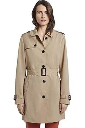 TOM TAILOR Women's Trenchcoat, 22201-Cream Toffee