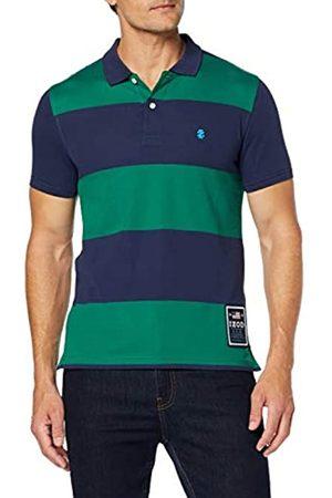 Izod Men's Rugby Stripe Performance Polo Shirt