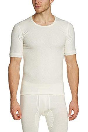 Susa Men's Angora Unterhemd s8050090 Themal Top, -Weiß (wollweiß s115)