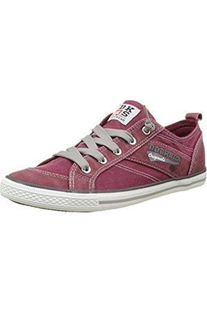Dockers by Gerli 36vc606-790720, Unisex Kids' Low-Top Sneakers, (Dunkelrot 720)