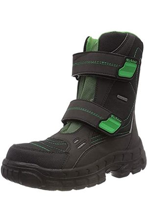 Richter Kinderschuhe Boys' Davos Snow Boots, ( /Grass 9901)
