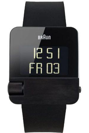 Braun Quartz Analogue Unisex Watch BN0106BKBKG Rubber 66534