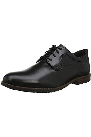 Rockport Men's Dustyn Plain Toe Oxfords, ( 001)