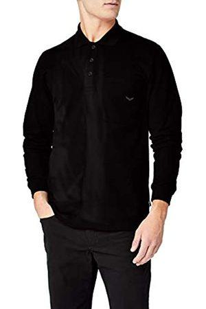 Trigema Men's 621652621652 Plain Long Sleeve Polo Shirt