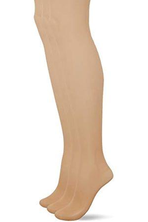 Pretty Polly Women's Naturals 8D Sandal Toe Tights, 7 DEN