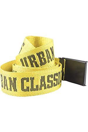 Urban classics Men's Jaquard Logo Belt