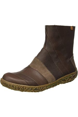 El Naturalista Women's N5440 Mix Leather Nido Ankle Boots