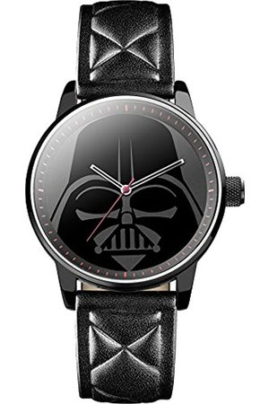 STAR WARS Men's Quartz Analogue Display Watch with Dial and PU Strap STAR298