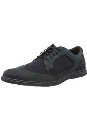 Clarks Men's Vennor Wing Low-Top Sneakers, (Navy Combi Navy Combi)